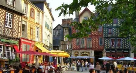 Отдых во Франции. Город Ренн.