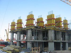 Монолитные строительные работы